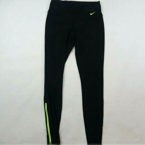 Nike Running Dri Fit Women's Leggings Zipper Ankle